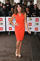 LONDON, UK. March 12, 2019: Lizzie Cundy arriving for the TRIC Awards 2019 at the Grosvenor House Hotel, London.<br /> Picture: Steve Vas/Featureflash