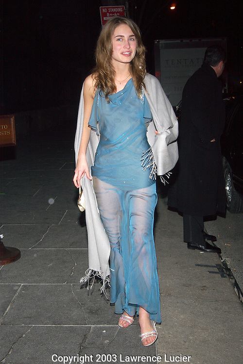 Lauren Bush in Christian Dior