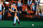 23 September 2016: North Carolina's Catherine Hayden. The University of North Carolina Tar Heels hosted the Syracuse University Orange at Francis E. Henry Stadium in Chapel Hill, North Carolina in a 2016 NCAA Division I Field Hockey match. UNC won the game 3-2 in two overtimes.