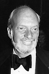 Hal Prince attends a Broadway performance on March 1, 1977 in New York City