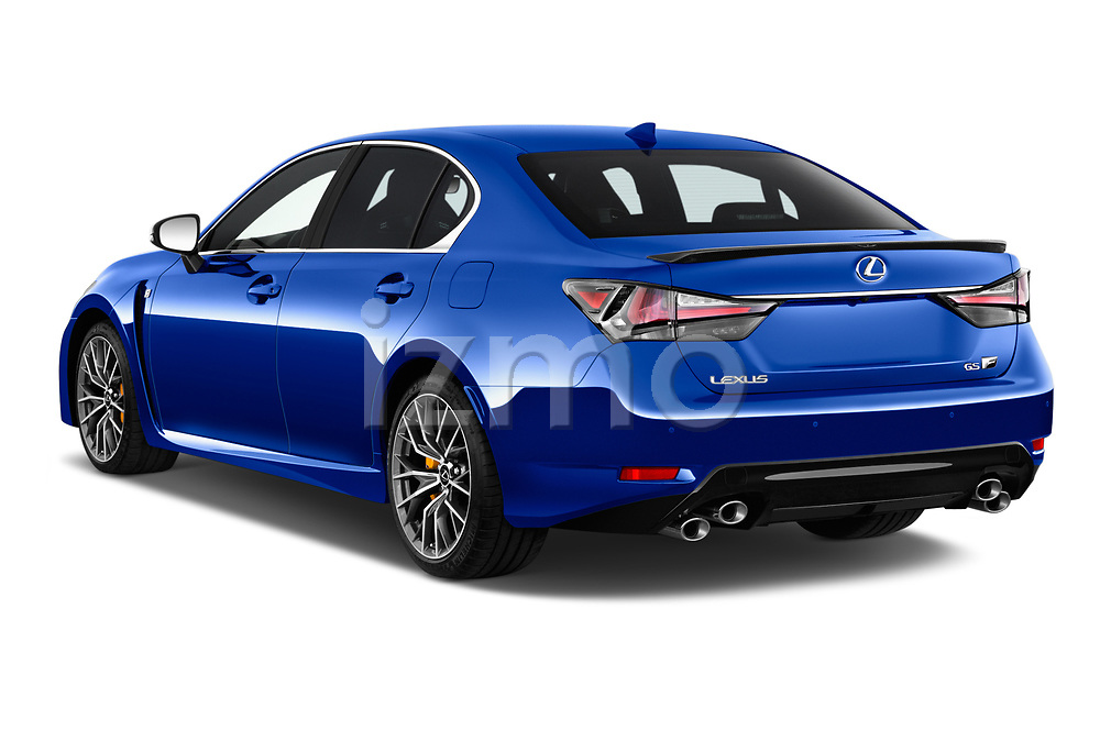 Car pictures of rear three quarter view of a 2017 Lexus GS F 4 Door Sedan angular rear