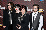 "LOS ANGELES, CA. - October 18: Musician Ozzy Osbourne, Kelly Osbourne, Sharon Osbourne and Jack Osbourne arrive at the Spike TV's ""Scream 2008"" Awards at The Greek Theater on October 18, 2008 in Los Angeles, California."