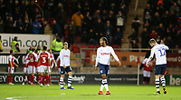 The Preston North End players show their dejection as they go 2-0 behind<br /> <br /> Photographer David Shipman/CameraSport<br /> <br /> The EFL Sky Bet Championship - Rotherham United v Preston North End - Tuesday 1st January 2019 - New York Stadium - Rotherham<br /> <br /> World Copyright © 2019 CameraSport. All rights reserved. 43 Linden Ave. Countesthorpe. Leicester. England. LE8 5PG - Tel: +44 (0) 116 277 4147 - admin@camerasport.com - www.camerasport.com