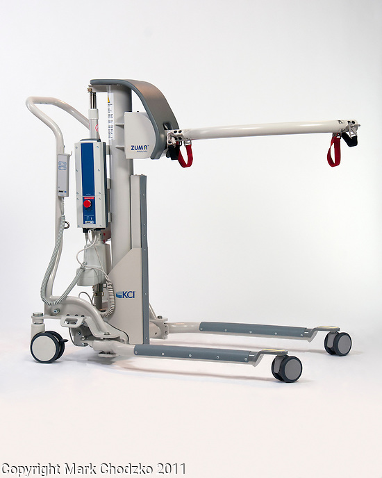 KCI hospital medical device for lifting assistance of patients.
