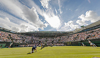 London, England, 3 th July, 2017, Tennis,  Wimbledon, Coert Nr. ! with retracable roof<br /> Photo: Henk Koster/tennisimages.com