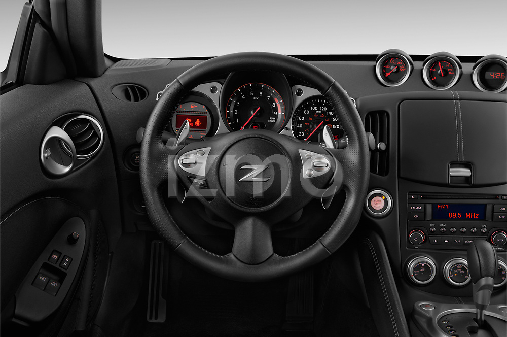 Car pictures of steering wheel view of a 2020 Nissan 370Z-Coupe 7A/T 0 Door Coupe Steering Wheel