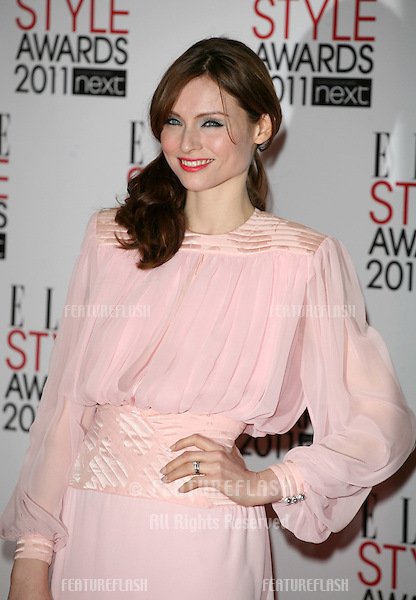 Sophie Ellis Bextor arriving for the Elle Style Awards 2011, at the Connaught Rooms, London. 15/02/2011  Picture by: Alexandra Glen / Featureflash