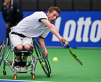 December 17, 2014, Rotterdam, Topsport Centrum, Lotto NK Tennis, Jeroen Staman (NED)<br /> Photo: Tennisimages/Henk Koster