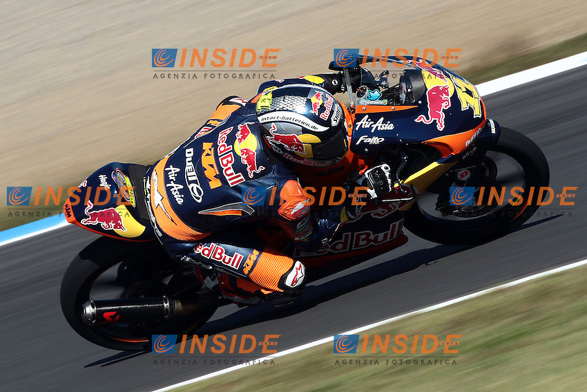 .13-10-2012 Motegi (JAP).Motogp - motogp.in the picture: Sandro Cortese - Red bull KTM Ajo .Foto Semedia/Insidefoto.ITALY ONLY