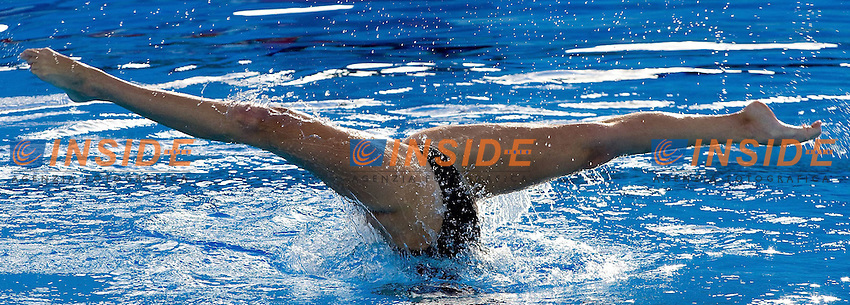 Roma 22nd July 2009 - 13th Fina World Championships From 17th to 2nd August 2009.Solo Free.DIAZ Julieta Andrea ARG.photo: Roma2009.com/InsideFoto/SeaSee.com