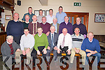 GROUP: Kerry C0-Op Advisory members,from the Ardkreem Area, held a function in Lowe's Bar & Restaurant, Ballyduff, on Friday night. Front l-r: Seamus O'Connor, Maurice Harty, Joseph O'Connor, John Kearney, John O'Connor, Eamon Barry and John O'Sullivan. 2nd row l-r: John Sheehy, Willie Keane, Michae Casey, Pat Griffin, Tom Shanahan, Michael Kissane and Barney Cantillon. Back l-r: Pat Slattery, Aiden Behan, Willie Slattery and John Lawlor....