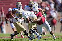 STANFORD, CA - AUGUST 30, 2014:  Anthony Hayes during Stanford's game against UC Davis. The Cardinal defeated the Aggies 45-0.