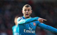 Jack Wilshere of Arsenal during the Premier League match between Bournemouth and Arsenal at the Goldsands Stadium, Bournemouth, England on 14 January 2018. Photo by Andy Rowland.