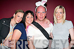 FANCY DRESS: At the Vicars & Tarts night in the Cashen Bar, Ballybunion, on Friday.night, l-r: Mary Slattery, Limerick, Marie Stokes, Tipperary Town, Brian McKee, Kildare.& Liverpool, and Nicola Ryan, Tipperary.