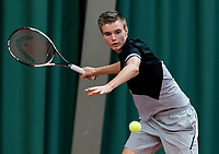 Wateringen, The Netherlands, March 9, 2018,  De Rijenhof , NOJK 12/16 years, Frank Jonker (NED)<br /> Photo: www.tennisimages.com/Henk Koster