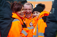 Swansea City Stewards during the Sky Bet Championship match between Cardiff City and Swansea City at the Cardiff City Stadium in Cardiff, Wales, UK. Sunday 12 January 2020