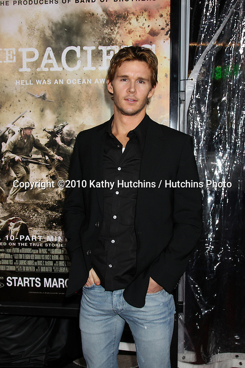 """Ryan Kwanten.arriving at HBO's """"The Pacific"""" Premiere Screening .Mann's Chinese Theater.Los Angeles, CA.February 24, 2010.©2010 Kathy Hutchins / Hutchins Photo...."""