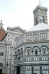 Florence Cathedral, formally the Cattedrale di Santa Maria del Fiore was begun in 1296 in the Gothic style to a design of Arnolfo di Cambio and was structurally completed by 1436, with the dome designed by Filippo Brunelleschi in Florence,Italy.