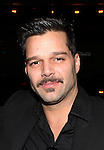 Ricky Martin.attending the Broadway Opening Night Actors' Equity Gypsy Robe Ceremony for recipient Matt Wall in 'EVITA' at the Marquis Theatre in New York City on 4/6/2012