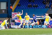 New signing Will Keane of Ipswich Town fires home the opening goal during Ipswich Town vs Rotherham United, Sky Bet EFL Championship Football at Portman Road on 12th January 2019