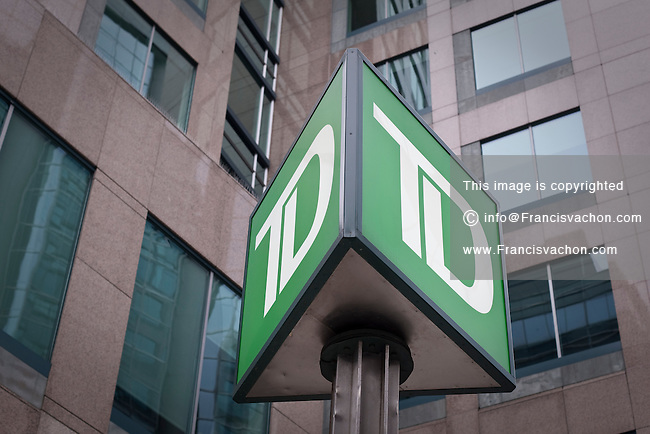 TD Canada Trust logo is seen in Ottawa Sunday September 26, 2010. TD Canada Trust is the personal, small business and commercial banking operation of the Toronto-Dominion Bank (TD) in Canada.
