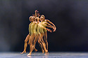 """Sadler's Wells presents """"Sadler's Wells Sampled"""". A regular fixture at Sadler's Wells since 2007, """"Sadler's Wells Sampled"""" showcases a wide variety of dance, from ballet to waacking, and contemporary dance to classical Indian dance. Appearing on both evenings, an eclectic line-up of renowned performers and dance companies comprises Mavin Khoo, Richard Alston Dance Company, Uchenna Dance, BirdGang, Patricia Guerrero, Semperoper Ballett and Rambert2. Picture shows: Rambert2 in """"Killer Pig"""" by choreographer Sharon Eyal. The dancers are: Antonello Sangirardi, Conor Kerrigan, Darlyn Perez, Hua Han, Imogen Alvares, Joshua Attwood, Mesahach Henry, Salome Pressac."""