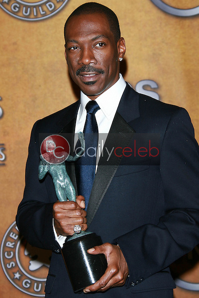 Eddie Murphy<br />in the Press Room at the 13th Annual Screen Actors Guild Awards. Shrine Auditorium, Los Angeles, CA. 01-28-07<br />Dave Edwards/DailyCeleb.com 818-249-4998
