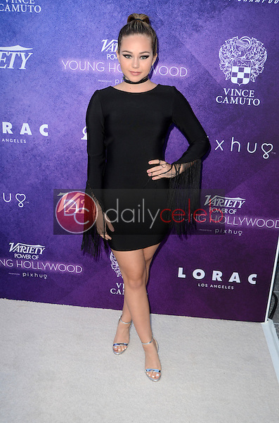 Brec Bassinger<br /> at the Variety Power of Young Hollywood Event, Neuehouse, Hollywood, CA 08-16-16<br /> David Edwards/DailyCeleb.com 818-249-4998