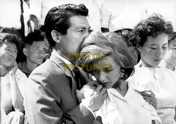 Eiji Okada, Emmanuelle Riva<br /> in Hiroshima Mon Amour (1959) <br /> *Filmstill - Editorial Use Only*<br /> CAP/FB<br /> Image supplied by Capital Pictures