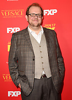 """HOLLYWOOD - JANUARY 8: Dominic Burgess attends the Red Carpet Premiere Event for FX's """"The Assassination of Gianni Versace: American Crime Story"""" at ArcLight Hollywood on January 8, 2018, in Hollywood, California. (Photo by Scott Kirkland/FX/PictureGroup)"""