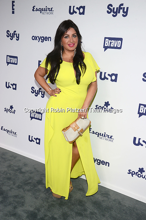 cast of Shahs of Sunset, Mercedes Javid, attend the NBCUniversal Cable Entertainment Upfront <br /> on May 15, 2014 at The Javits Center North Hall in New York City, New York, USA.