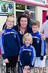 Aisling, Selina, Caoimhe and Fionan O'Connor Killorglin at Puck Fair on Thursday