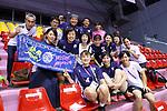 Japan women team group (JPN),<br /> AUGUST 30, 2018 - Sepak takroae : <br /> Women's Quadrant match between Japan - Vietnam<br /> at Jakabaring Sport Center Ranau Hall <br /> during the 2018 Jakarta Palembang Asian Games <br /> in Palembang, Indonesia. <br /> (Photo by Yohei Osada/AFLO SPORT)