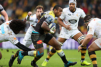 Kini Murimurivalu of La Rochelle during the European Champions Cup match between La Rochelle and London Wasps on December 10, 2017 in La Rochelle, France. (Photo by Manuel Blondeau/Icon Sport)