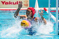 13 SHIOYA Minami JPN<br /> JPN (white cap) -  NED (blue cap)<br /> Preliminary Round Water Polo Women<br /> Day05  18/07/2017 <br /> XVII FINA World Championships Aquatics<br /> Alfred Hajos Complex Margaret Island  <br /> Budapest Hungary <br /> Photo @ Deepbluemedia/Insidefoto