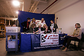 West Palm Beach County Florida.USA.November 2, 2004..Reviewing questionable signatures on absentee ballots.