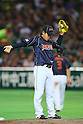 Kazuhisa Makita (JPN), .MARCH 2, 2013 - WBC : .2013 World Baseball Classic .1st Round Pool A .between Japan 5-3 Brazil .at Yafuoku Dome, Fukuoka, Japan. .(Photo by YUTAKA/AFLO SPORT) [1040]