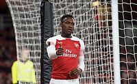 Danny Welbeck of Arsenal gives a thumb up during the UEFA Europa League group match between Arsenal and Sporting Clube de Portugal at the Emirates Stadium, London, England on 8 November 2018. Photo by Andrew Aleks / PRiME Media Images.<br /> .<br /> (Photograph May Only Be Used For Newspaper And/Or Magazine Editorial Purposes. www.football-dataco.com)