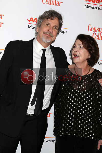 Peter Farrelly, mother<br /> at the AARP Movies for Growups Awards, Beverly Wilshire Hotel, Beverly Hills, CA 02-04-19<br /> David Edwards/DailyCeleb.com 818-249-4998