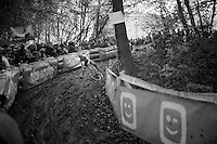 slip'n'slide by Bart Wellens (BEL/Telenet-Fidea)<br /> <br /> Superprestige Gavere 2014