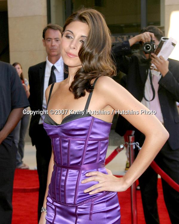 Jamie-Lynn Sigler.ESPY Awards 2007.Kodak Theater.Los Angeles, CA.July 11, 2007.©2007 Kathy Hutchins / Hutchins Photo....