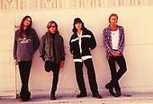 MR. BIG, PAT TORPEY, BILLY SHEEHAM, ERIC MARTIN, PAUL GILBERT, STUDIO SESSION, CULVER CITY, CA, 1995 WILLIAM HAMES