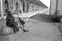 - Mozambique 1993, the railway station of capital city Maputo<br /> <br /> - Mozambico 1993,  la stazione ferroviaria della capitale Maputo