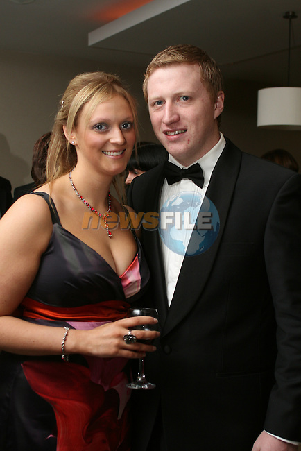 Shauna Smyth and Jimmy Connolly, Tullyallen Pharmacy at the Drogheda Chamber of Commerce Business Excellence Awards in the City North Hotel...Photo NEWSFILE/Jenny Matthews.(Photo credit should read Jenny Matthews/NEWSFILE)....This Picture has been sent you under the condtions enclosed by:.Newsfile Ltd..The Studio,.Millmount Abbey,.Drogheda,.Co Meath..Ireland..Tel: +353(0)41-9871240.Fax: +353(0)41-9871260.GSM: +353(0)86-2500958.email: pictures@newsfile.ie.www.newsfile.ie.FTP: 193.120.102.198.