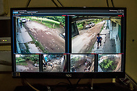 Surveillance system with cameras pointed in front of  the home of Jorge Sanchez Ordonez, son of murdered journalist Jose Moises Sanchez Cerezo, on January 2, 2015, and later found murdered, a surveillance monitor set-up for his protection, on June 29, 2016 in Veracruz, Mexico. On January 2, 2015, Mexican social activist and journalist Mois&eacute;s S&aacute;nchez Cerezo was kidnapped from his home in Medell&iacute;n de Bravo, Veracruz, Mexico and killed. According to eyewitness reports, armed men dressed in civilian clothing broke into his house and forced him into a vehicle. The kidnappers also took S&aacute;nchez's computer, camera, and cellphones. S&aacute;nchez was the founder and director of the weekly newspaper La Uni&oacute;n, (&quot;The Union&quot;), where he covered a varierty of topics, including political corruption, government mismanagement, and organized crime. He was also active on social media as a reporter, and in his community as a taxi driver, small business owner, and neighborhood organizer. His family initially suspected that the mayor of Medell&iacute;n de Bravo, Omar Cruz Reyes, was responsible for masterminding the kidnapping because S&aacute;nchez was a harsh critic of his administration. The mayor, however, pledged his innocence and stated that S&aacute;nchez and him maintained a close friendship. On January 24, his corpse was discovered inside a plastic bag in Manlio Fabio Altamirano, Veracruz. Post-mortem examinations confirmed that his kidnappers cut his throat open and severed his head while he was still alive before mutilating his body into several pieces. Investigators believe that municipal policemen, acting on orders of the mayor, participated in the murder. S&aacute;nchez was the first journalist kidnapped and killed in Mexico in 2015.<br /> Photo Daniel Berehulak for the New York Times