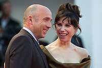 Sally Hawkins, Matthew Greenfield at the Shape Of Water premiere, 74th Venice Film Festival in Italy on 31 August 2017.<br /> <br /> Photo: Kristina Afanasyeva/Featureflash/SilverHub<br /> 0208 004 5359<br /> sales@silverhubmedia.com