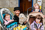 "Puppett Show : Attending the ""your Man's Puppets Show as part of Heritage Night at St. John's Arts Centre, Listowel on Friday evening last were Hannah Dempsey, Abbeydorney, Your Man, Cliona & Orna Nolan from Kilmoyley."