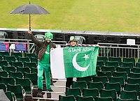 Fans braving the elements during Pakistan vs Sri Lanka, ICC World Cup Cricket at the Bristol County Ground on 7th June 2019