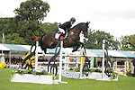 Stamford, Lincolnshire, United Kingdom, 8th September 2019, Ben Hobday (GB) & Harelaw Wizard during the Show Jumping Phase on Day 4 of the 2019 Land Rover Burghley Horse Trials, Credit: Jonathan Clarke/JPC Images