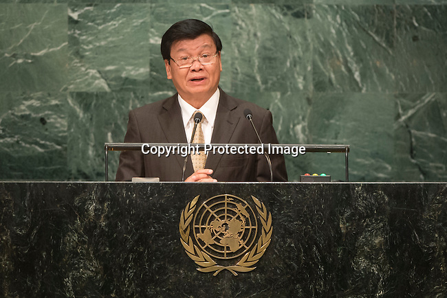 Lao People&rsquo;s Democratic Republic<br /> H.E. Mr. Thongloun Sisoulith<br /> Prime Minister<br /> <br /> General Assembly Seventy-first session, 17th plenary meeting<br /> General Debate